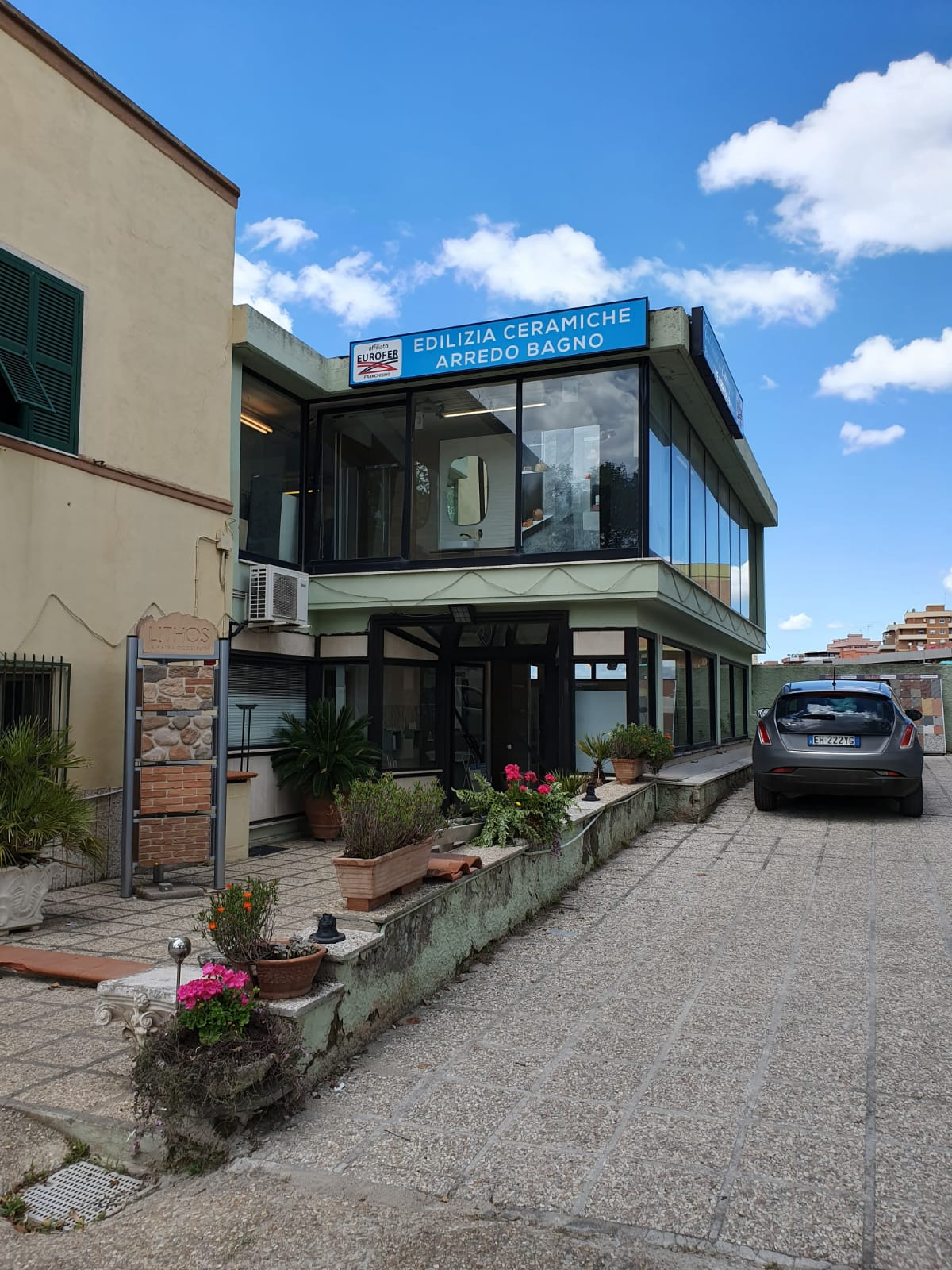 Eurofer showroom Civitavecchia esterno