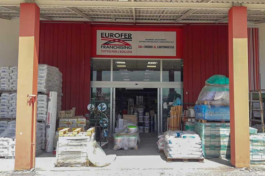 Eurofer Frosinone esterno punto vendita