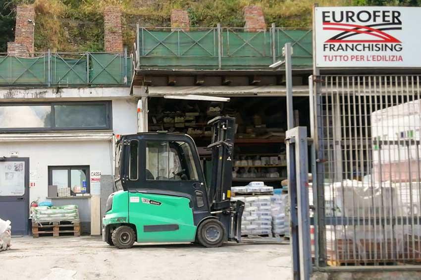 Eurofer Parioli esterno punto vendita