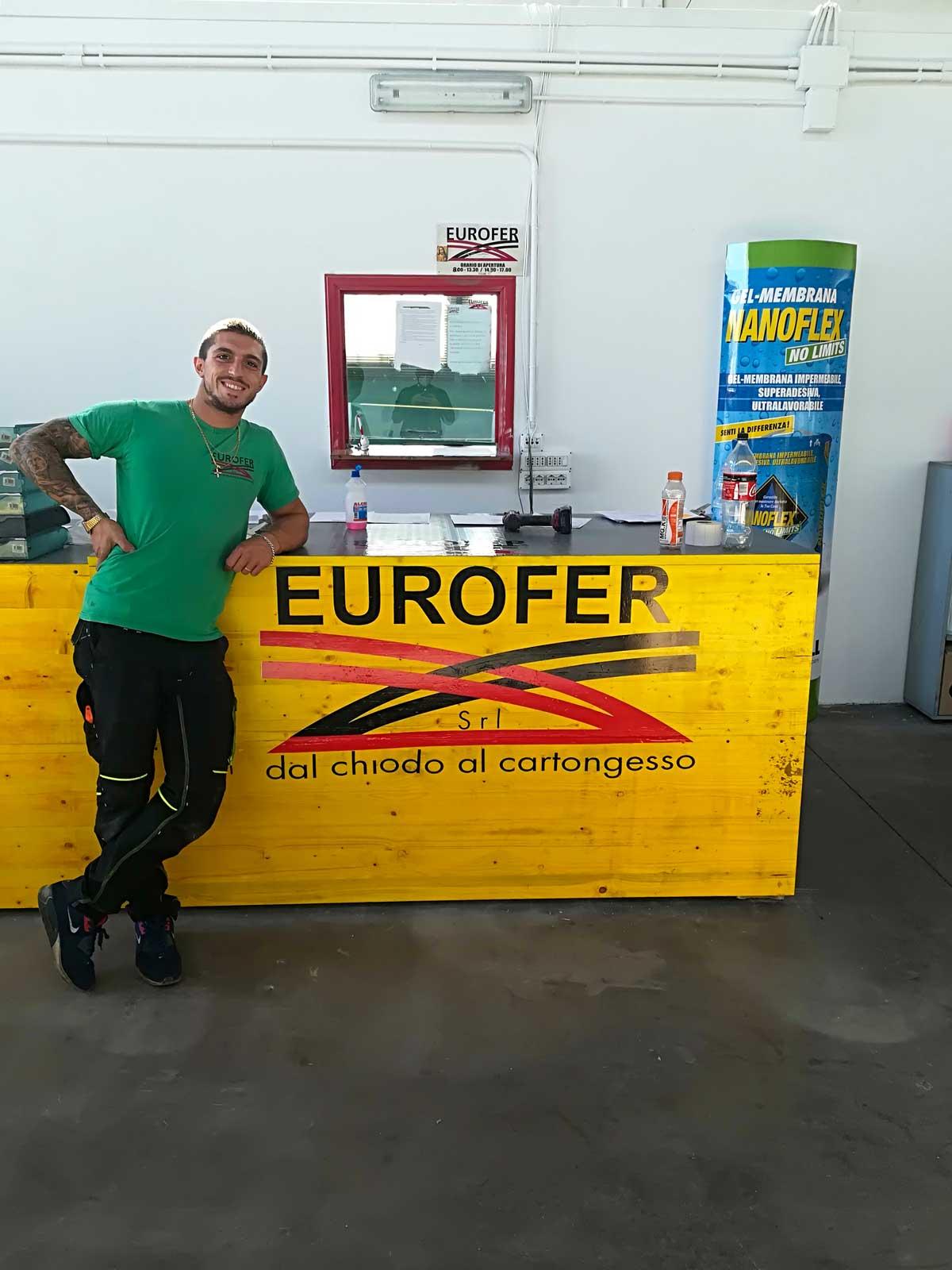 Eurofer Roma sede Casal Lombroso