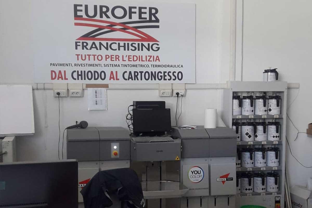 Eurofer Frosinone servizio tintometro