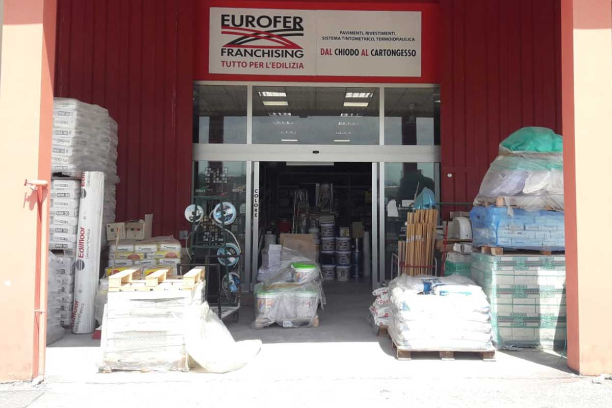 Eurofer Frosinone entrata punto vendita